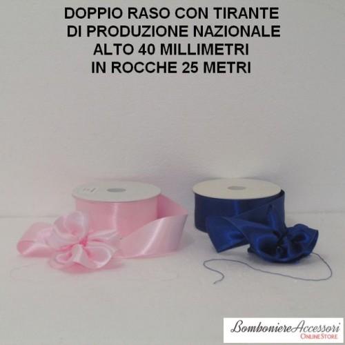 DOPPIO RASO CON TIRANTE ALTO 40 MILLIMETRI - 25 METRI