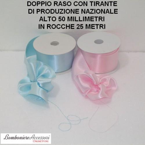 DOPPIO RASO CON TIRANTE ALTO 50 MILLIMETRI - 25 METRI