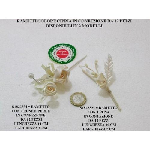 RAMETTI COLORE CIPRIA - PEZZI 12