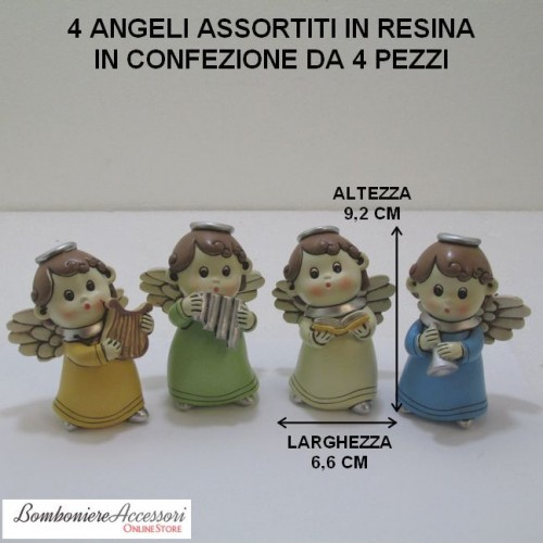 ANGELI ASSORTITI IN 4 MODELLI
