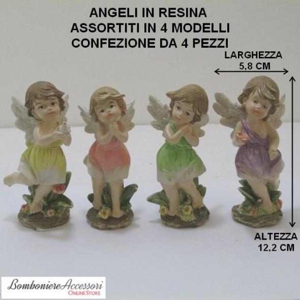 ANGELI ASSORTITI COLORATI
