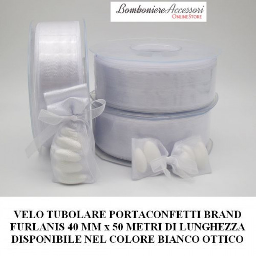 VELO TUBOLARE PORTACONFETTI BIANCO BRAND FURLANIS